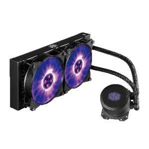 Diss A Liquido Cooler Master Mlw-d24m-a20pc-r1 Masterliquid Ml240l Rgb Intel Lga 775>2066 Amd Am4>fm1 240x240x25mm 2000rpm