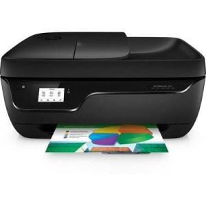 "Stampante Hp Mfc Ink Officejet 3831 K7v45b 4in1 Black A4 16/20ppm 512mb Usb/wifi Lcd2.2"" 1200x1200dpi 45x36.4x22.44 1y"