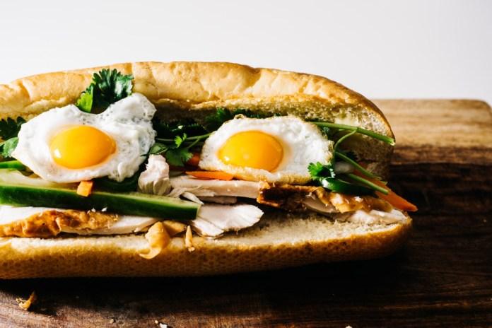 Ricetta Egg amp Turkey Banh Mi