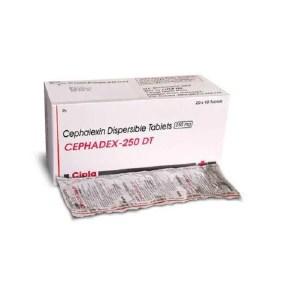 Cephadex DT 250mg (Cephalexin)