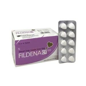 Fildena CT 100mg (Sildenafil Citrate)