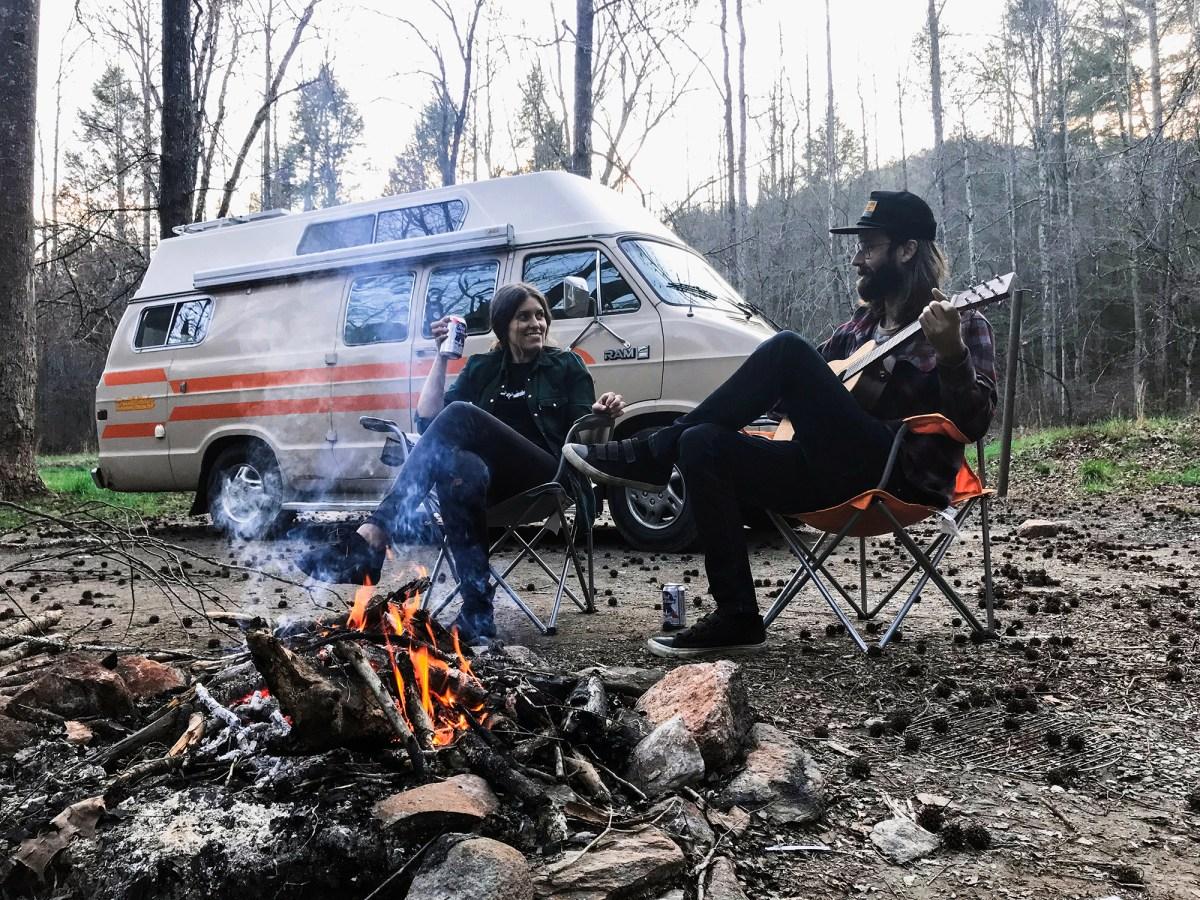 Generic Van Life - Tennessee Camping