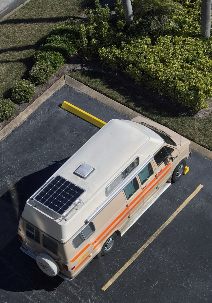 Generic Van Life - Solar Panel Setup - Solar Panel