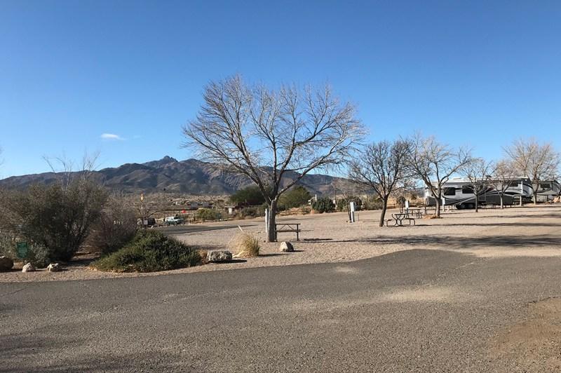 Generic Van Life - Camping Spot - Blake Ranch Kingman Arizona United States - Park View