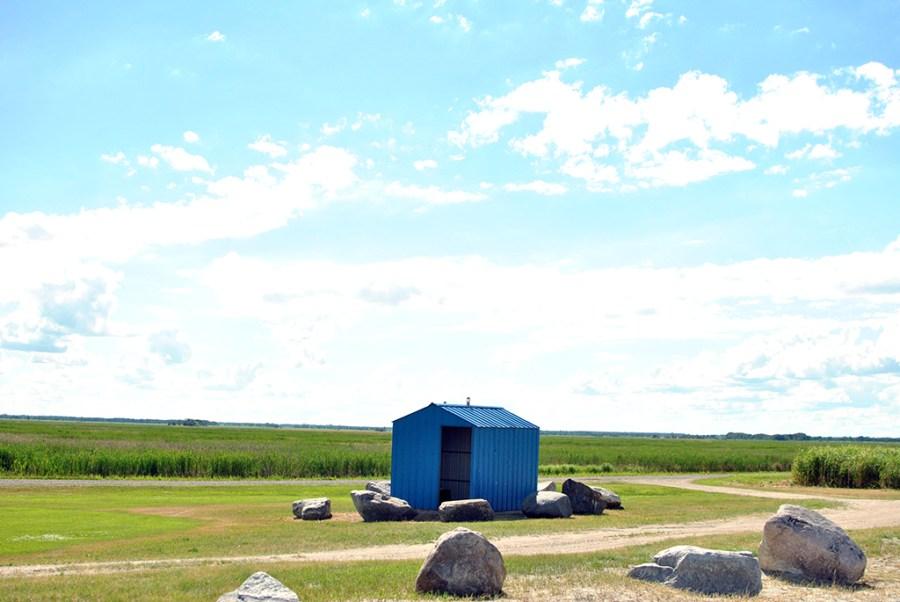 Generic-Van-Life-Camping-Spot-Hollywood-Beach-Manitoba-Outhouse
