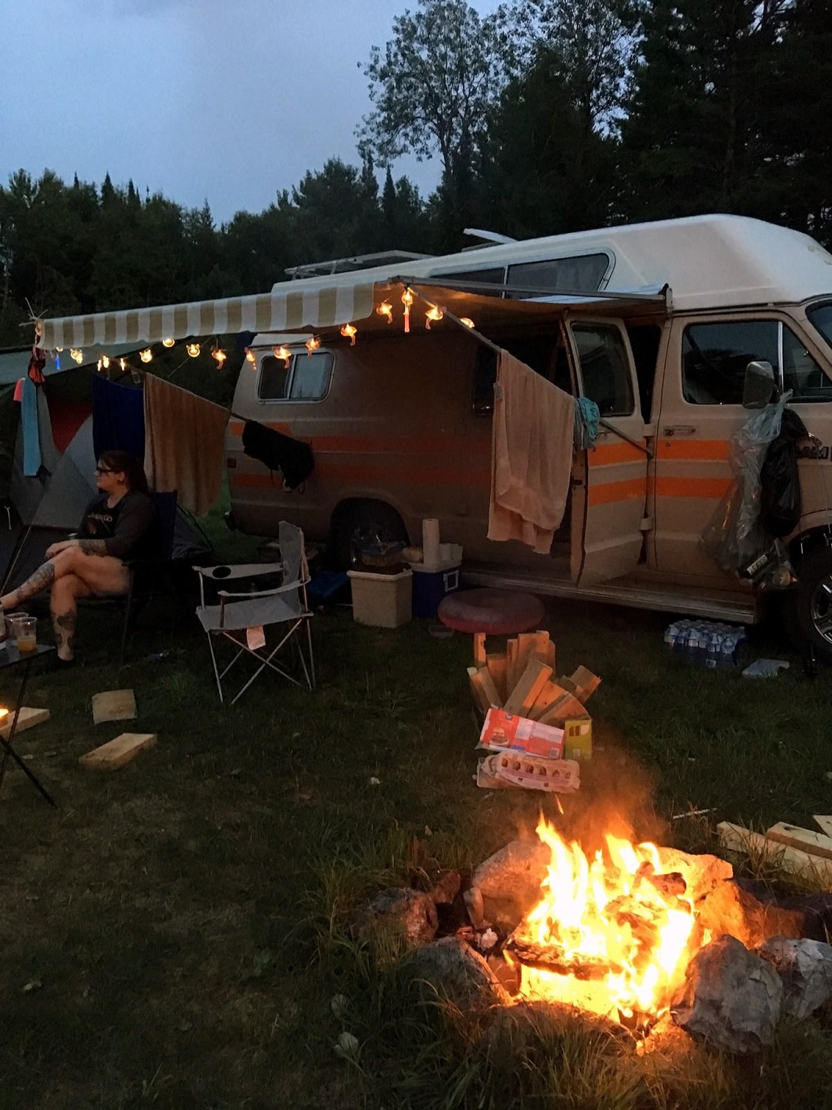 Generic Van Life - Southern Ontario Cashel Lake Shanty Town