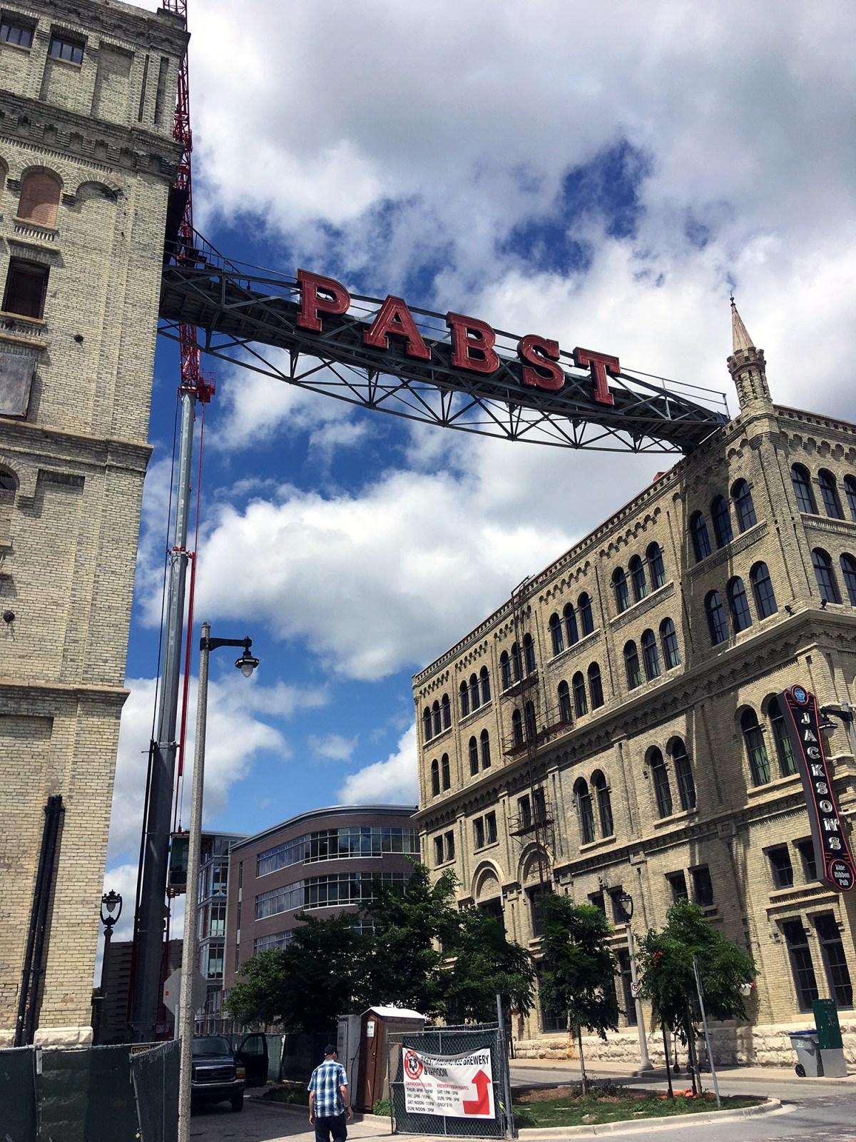 Generic Van Life - Wisconsin Milwaukee Pabst Brewery