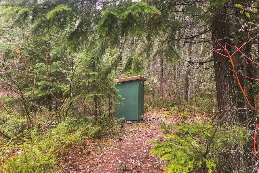Generic-Van-Life-Erie-Creek-British-Columbia-Outhouse