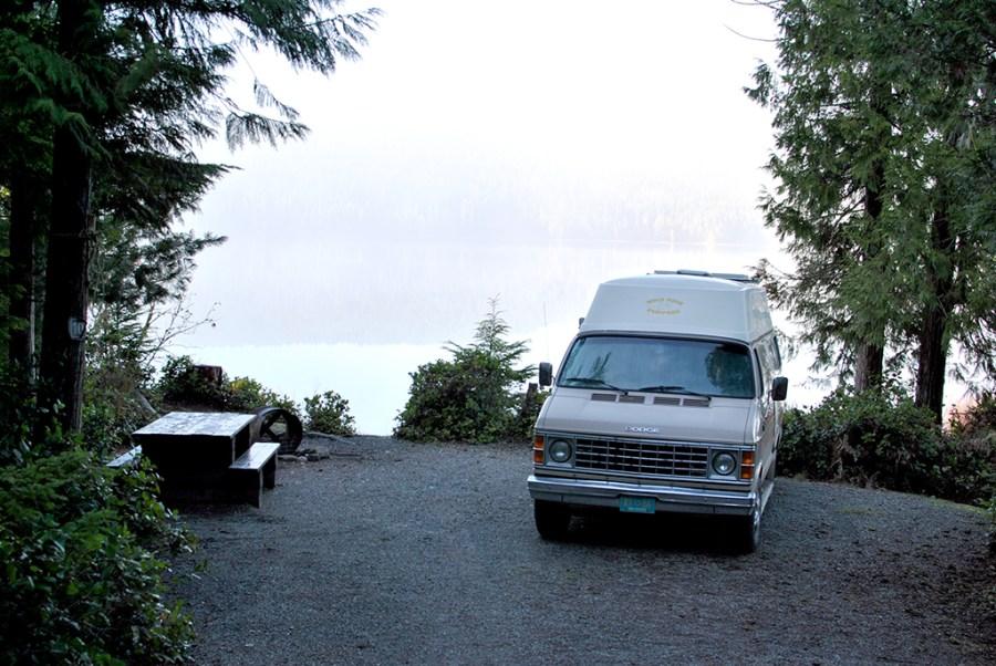 Generic-Van-Life-Camping-Spot-Brewster-Lake-British-Columbia-Campsite