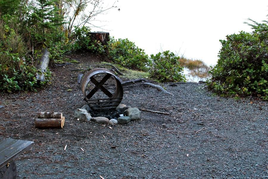 Generic-Van-Life-Camping-Spot-Brewster-Lake-British-Columbia-Firepit