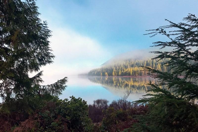 Generic-Van-Life-Camping-Spot-Brewster-Lake-British-Columbia-Lake