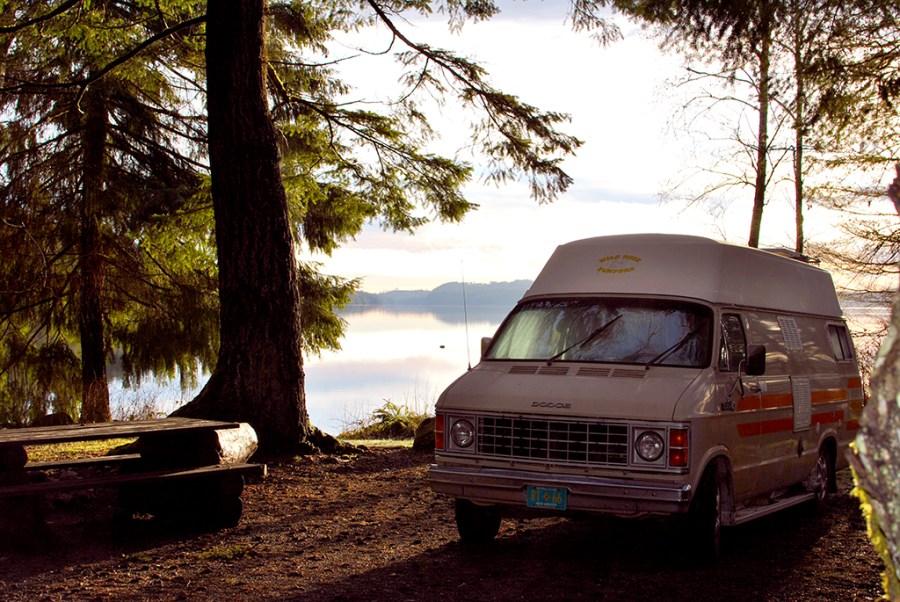 Generic-Van-Life-Camping-Spot-Gosling-Bay-British-Columbia-Spot