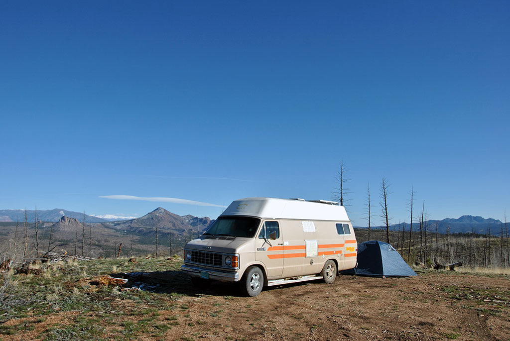 Generic Van Life - Getting Rocky Mountain Fresh in Colorful Colorado - Rule Creek