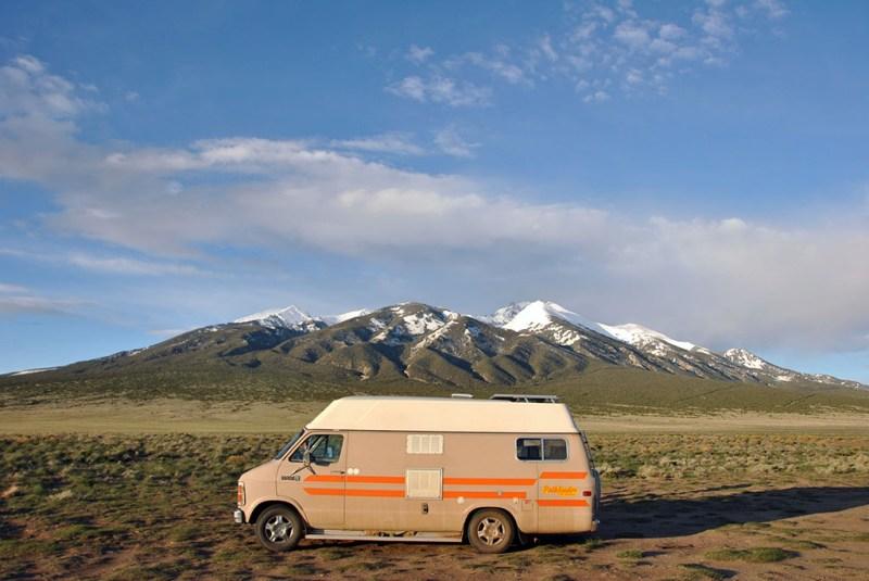Generic Van Life - Getting Rocky Mountain Fresh in Colorful Colorado - Blanca Peak