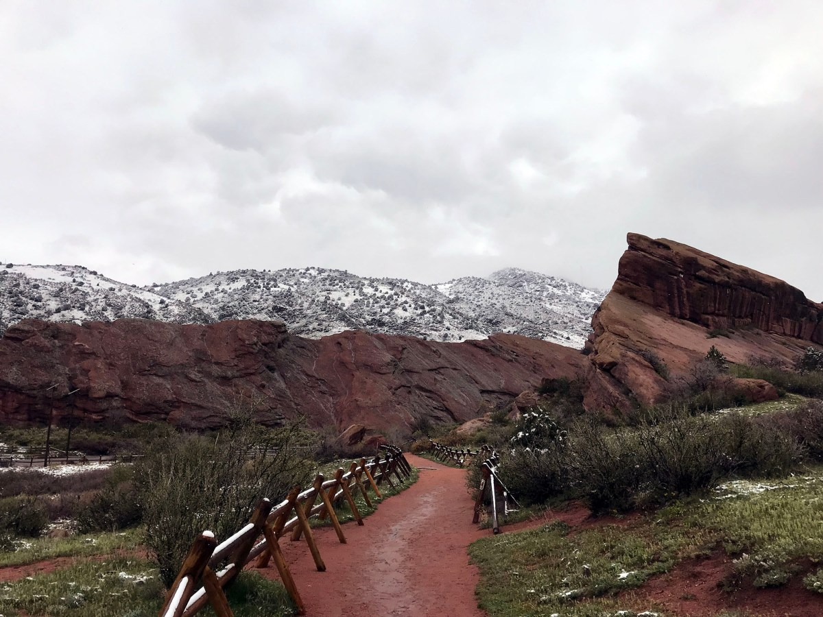 Generic Van Life - Getting Rocky Mountain Fresh in Colorful Colorado - Red Rocks Amphitheatre