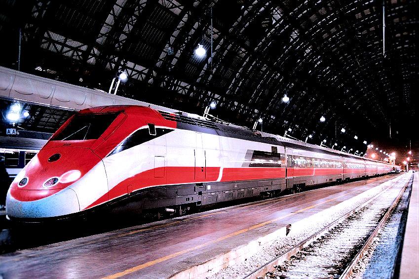 Italian bullet train.