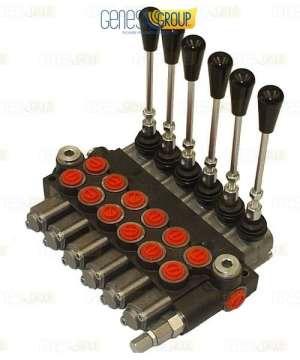 Distributore idraulico GHIM a 6 leve doppio effetto 3/8 – Oleodinamico