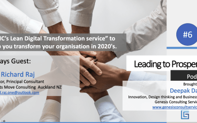 """KMC's Lean Digital Transformation service"" to help you transform your organisation in 2020's."