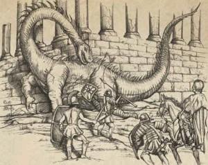 John of Damascus Dragon
