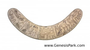 Egyptian Apotropaic Wand on Hippo Tusk British Museum