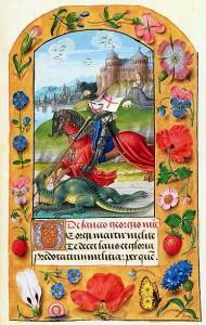 St. George Killing the Dragon - Fitzwilliam Museum