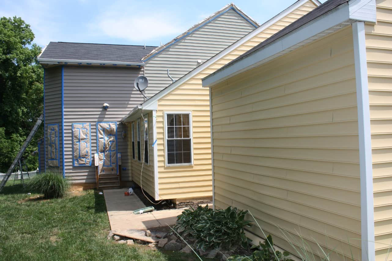 Yellow Exterior Wood Paint