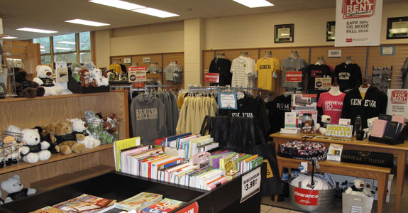 An image of a college store