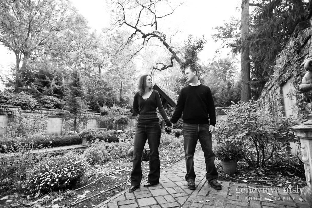Akron, Copyright Genevieve Nisly Photography, Engagements, Fall, Ohio, Stan Hywet