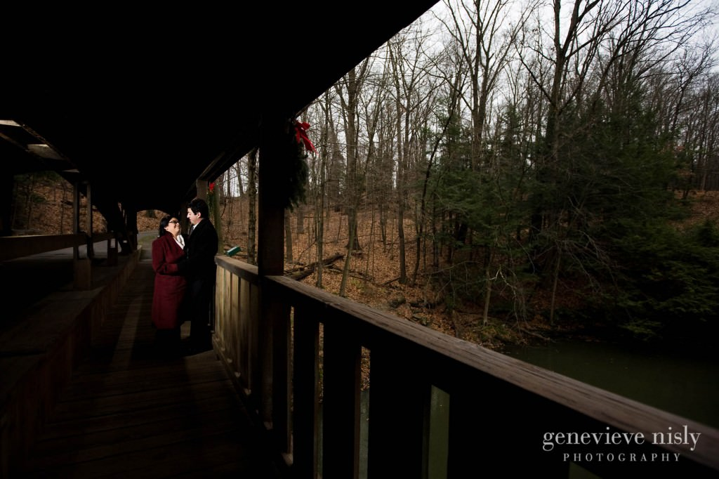 Copyright Genevieve Nisly Photography, Engagements, Mill Creek Metroparks, Winter, Youngstown