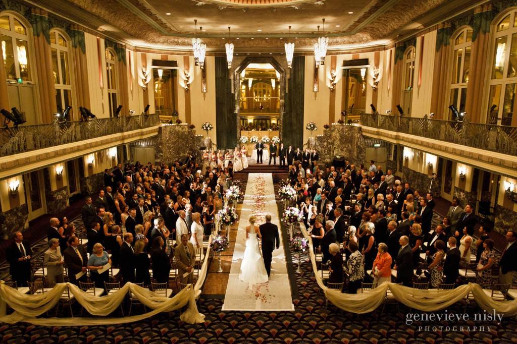 Cincinnati, Hilton Netherland Plaza, Ohio, Spring, Wedding