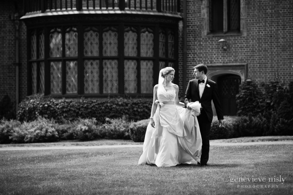 Akron, Copyright Genevieve Nisly Photography, Ohio, Spring, Stan Hywet, Wedding