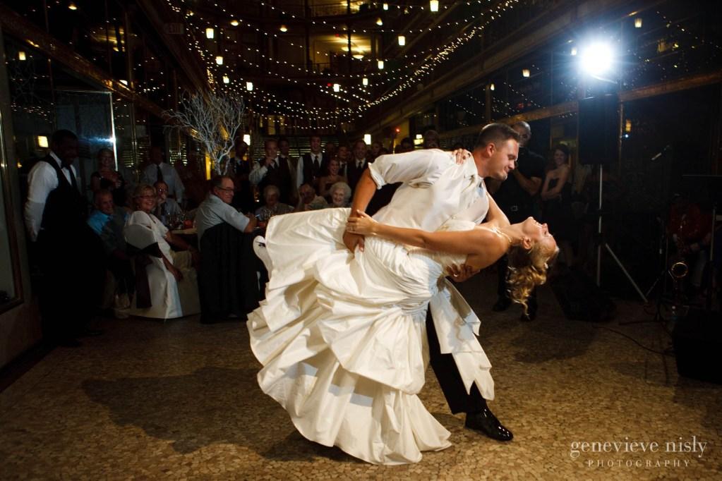 Cleveland, Copyright Genevieve Nisly Photography, Hyatt Arcade, Ohio, Summer, Wedding