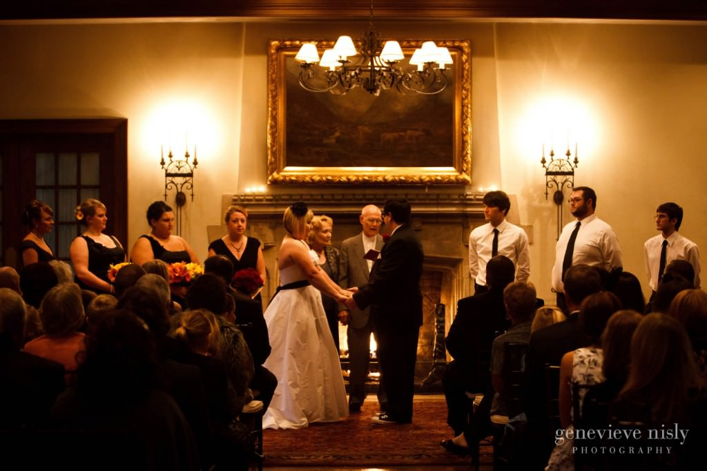 Akron, Copyright Genevieve Nisly Photography, Fall, Ohio, Portage Country Club, Wedding