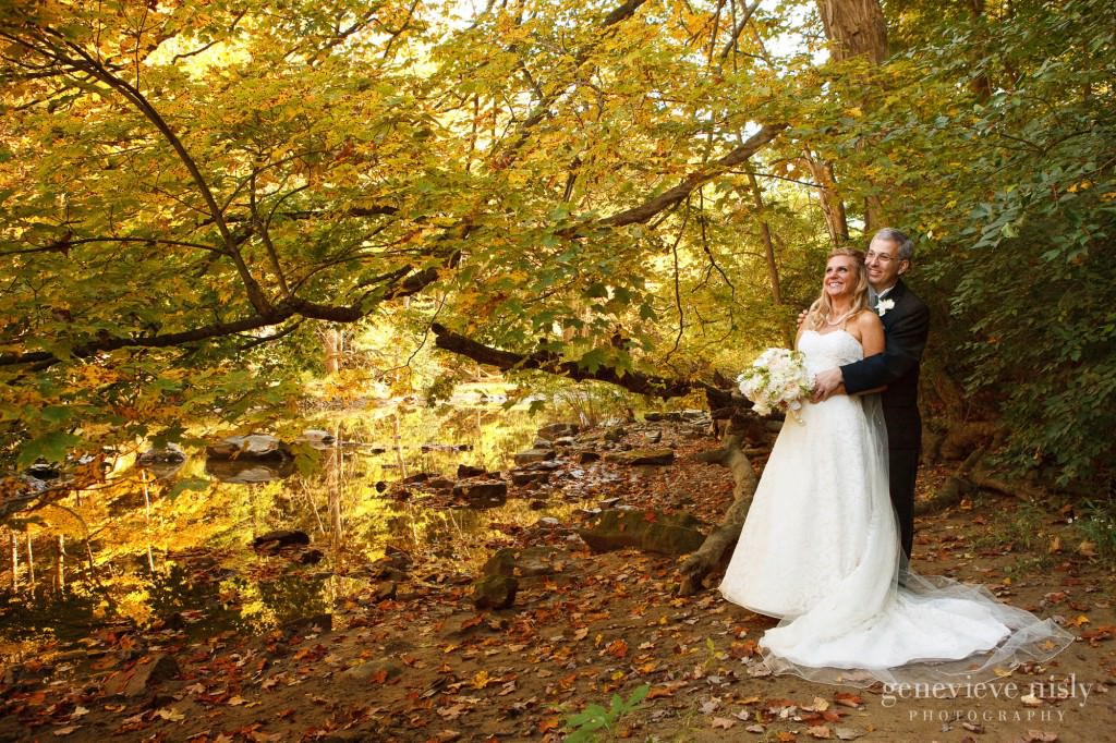 Cleveland, Copyright Genevieve Nisly Photography, Fall, Olmsted Falls, Wedding