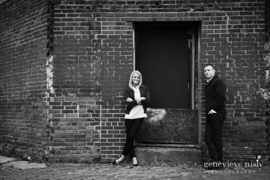 Cleveland, Copyright Genevieve Nisly Photography, Engagements, Fall, Ohio, Ohio City