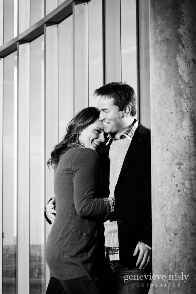 Cleveland, Copyright Genevieve Nisly Photography, Downtown Cleveland, Engagements, Fall, Ohio
