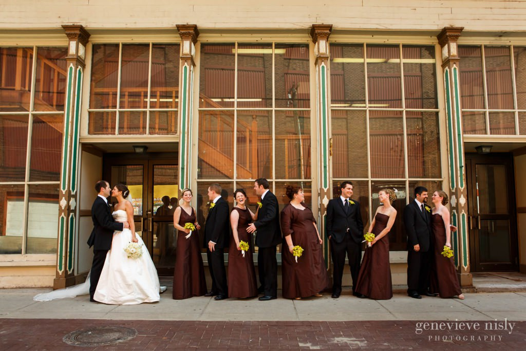 Cleveland, Flats, Ohio, Summer, Wedding