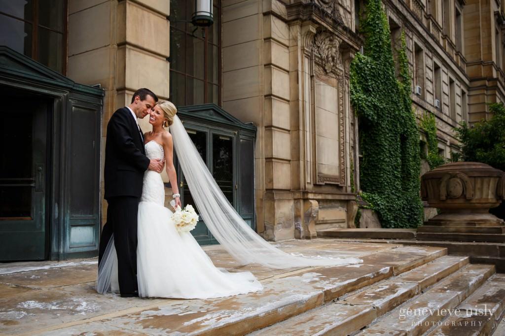 Cleveland, Copyright Genevieve Nisly Photography, Downtown Cleveland, Ohio, Summer, Wedding