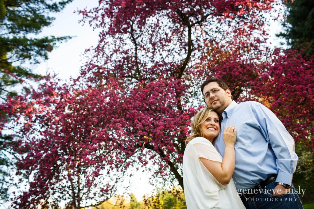 Copyright Genevieve Nisly Photography, Engagements, Gates Mills, Ohio, Spring