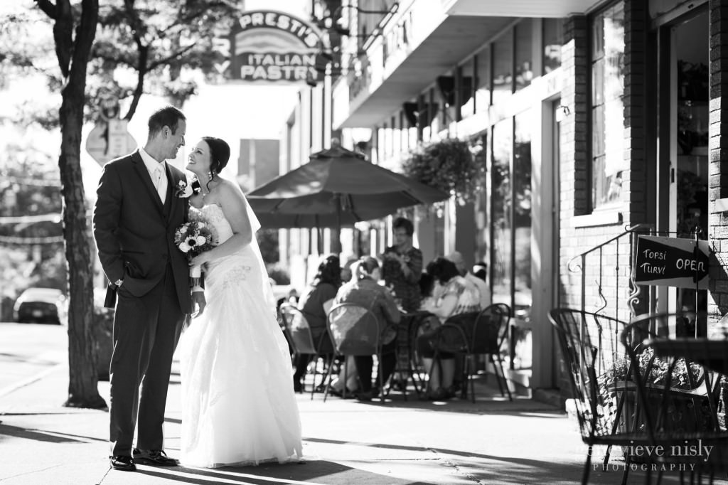 Cleveland, Copyright Genevieve Nisly Photography, Fall, Little Italy, Ohio, Wedding