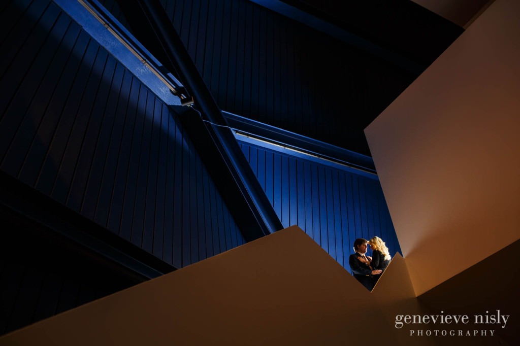 Cleveland, Cleveland Museum of Art, Copyright Genevieve Nisly Photography, Engagements, MOCA, Winter
