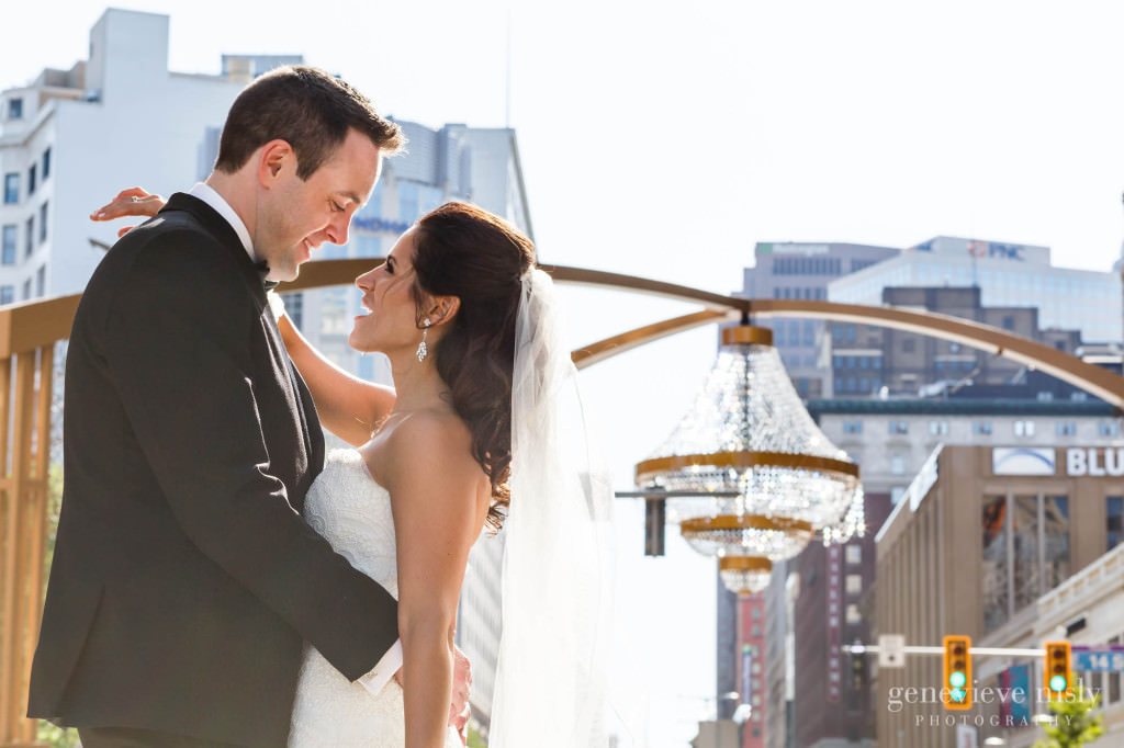 Cleveland, Copyright Genevieve Nisly Photography, Ohio, Playhouse Square, Spring, Wedding