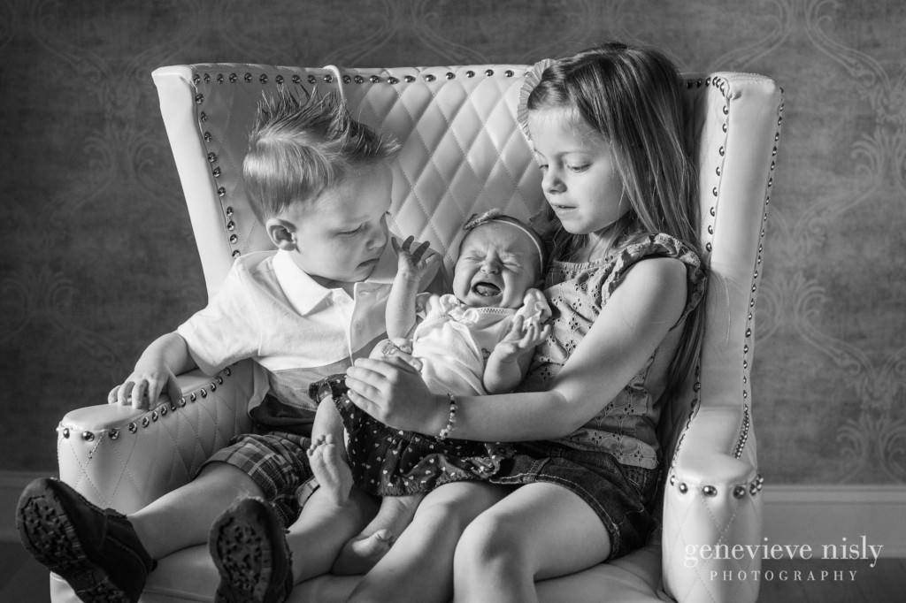 Baby, Copyright Genevieve Nisly Photography, Family, Green, Ohio, Portraits, Studio