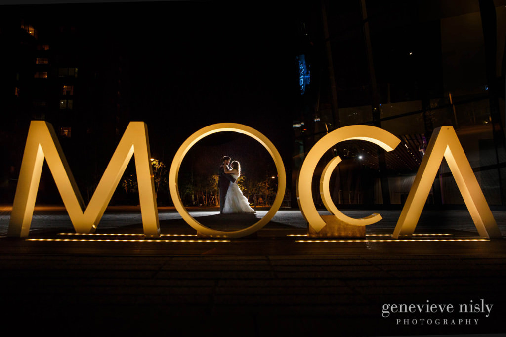Cleveland, Copyright Genevieve Nisly Photography, MOCA, Summer, Wedding
