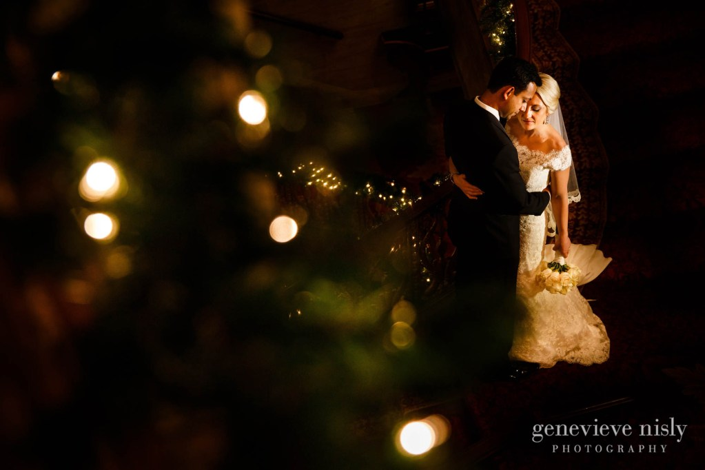 Cleveland, Copyright Genevieve Nisly Photography, Renaissance Hotel, Wedding, Winter