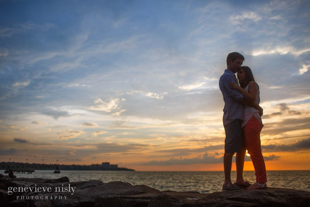 Cleveland, Copyright Genevieve Nisly Photography, Edgewater Park, Engagements, Summer