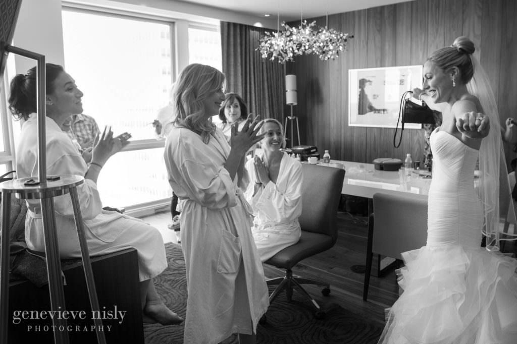 Wedding, Summer, Copyright Genevieve Nisly Photography, Cleveland, Westin