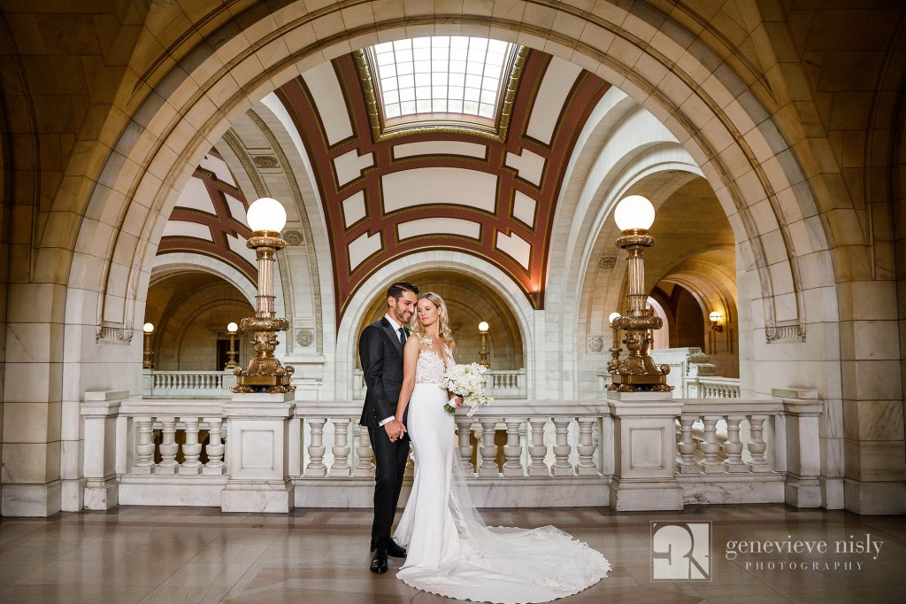 Ohio, Copyright Genevieve Nisly Photography, Wedding, Cleveland, Old Courthouse