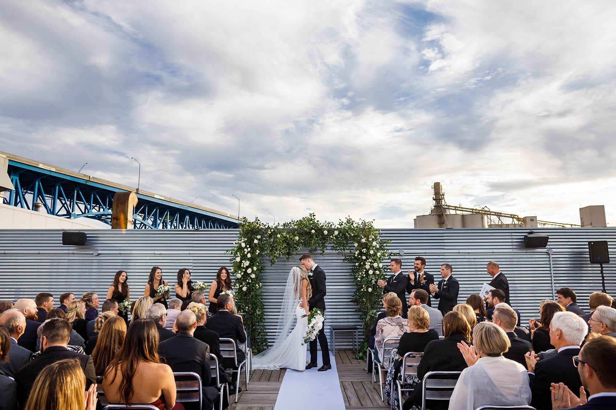 Wedding, Ceremony, music box, Music Box Supper Club