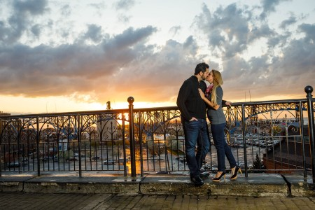 Superior Viaduct Cleveland wedding photo location
